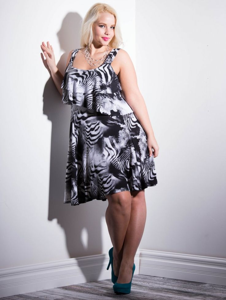 Elly Mayday in The Patio Dress at www.lucyclothing.ca ...