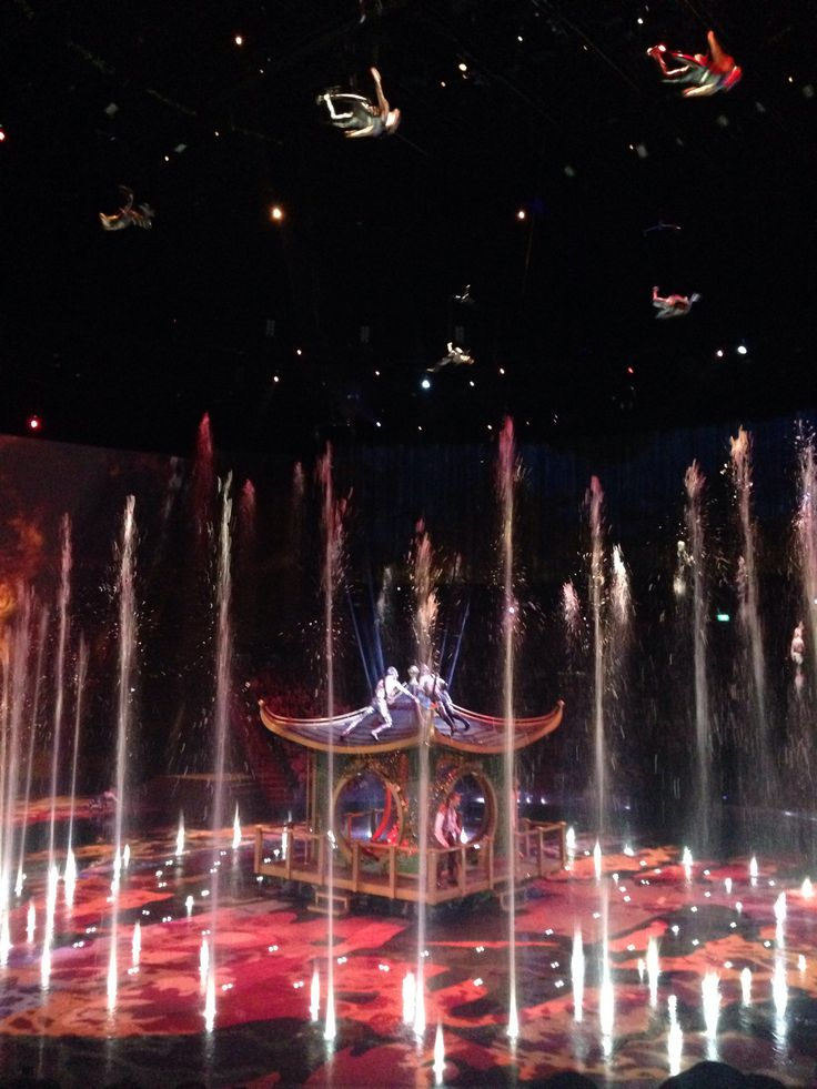 Flying on the underwater Stage