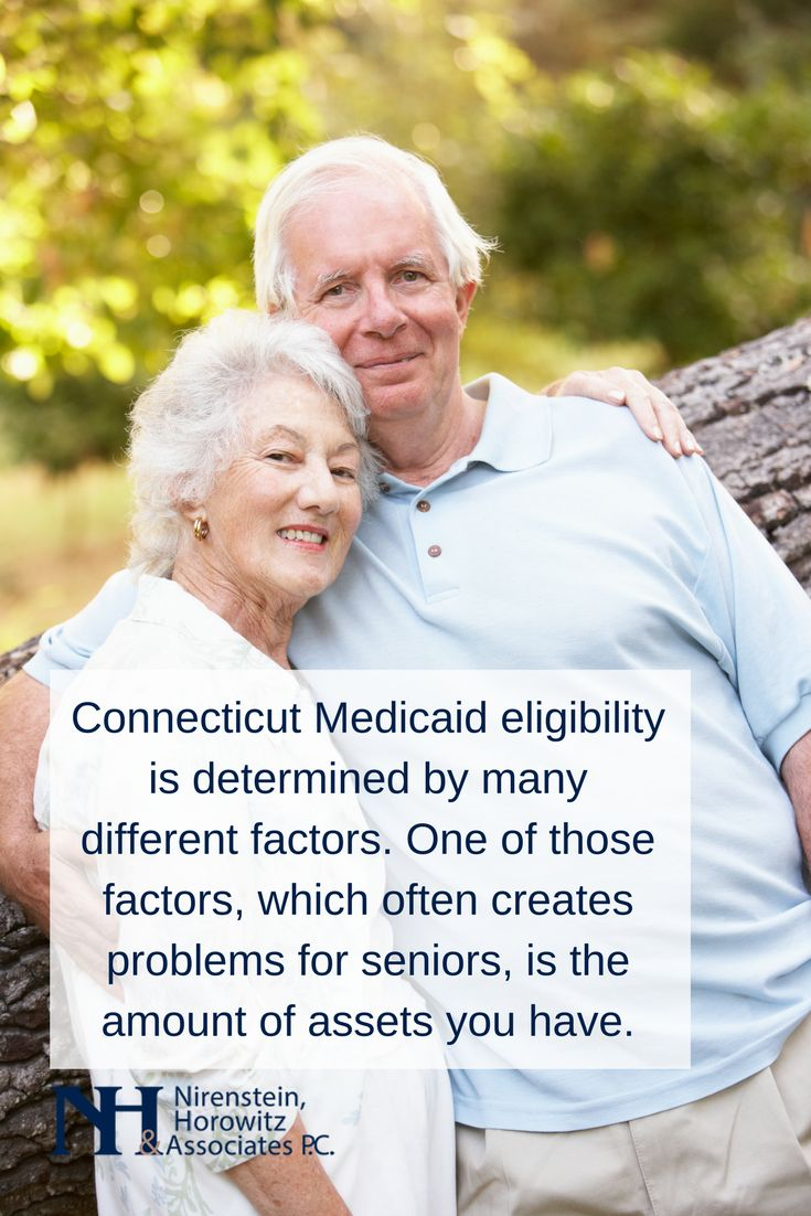 Connecticut Medicaid eligibility is determined by many different factors. One of those factors, which often creates problems for seniors, is the amount of assets you have.