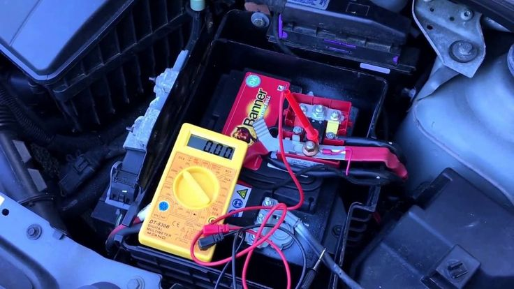 How to test car alternator with a multimeter Renault Twingo 2 DIY
