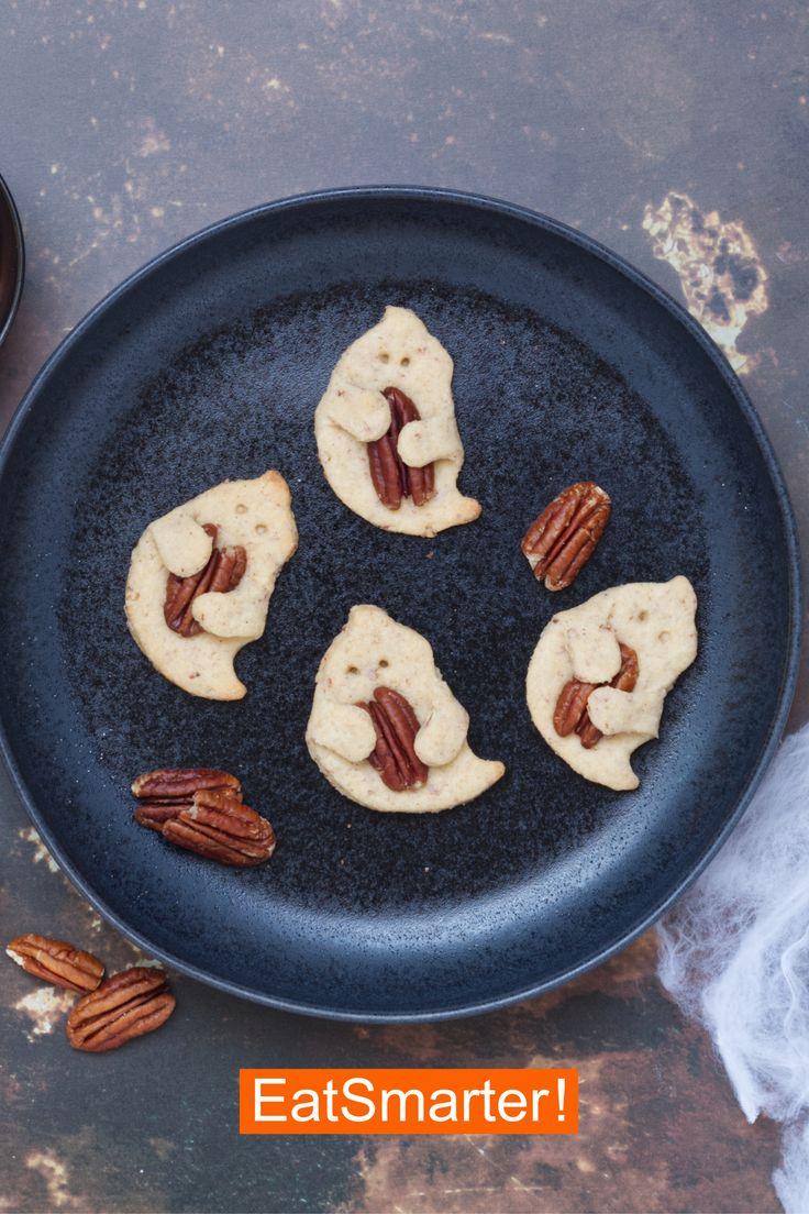 HalloweenKekse mit Geistern Rezept Halloween kekse
