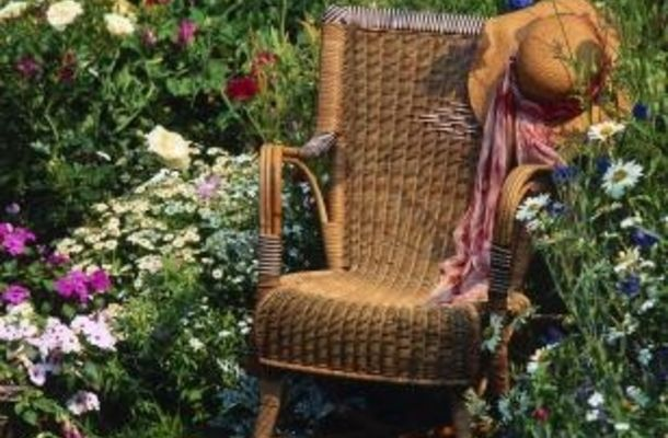 Paint Resin Wicker Furniture