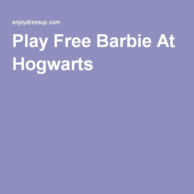Play Free Barbie At Hogwarts
