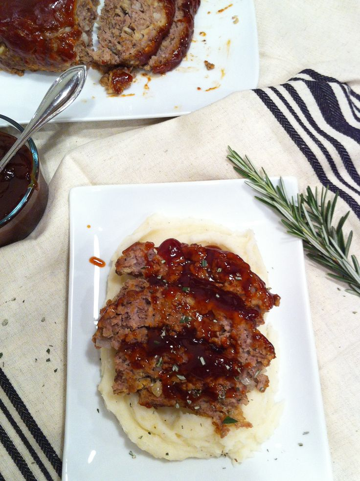 Brown Sugar Meatloaf. Yum. This has changed eating meatloaf from once a year to once a month in my life.