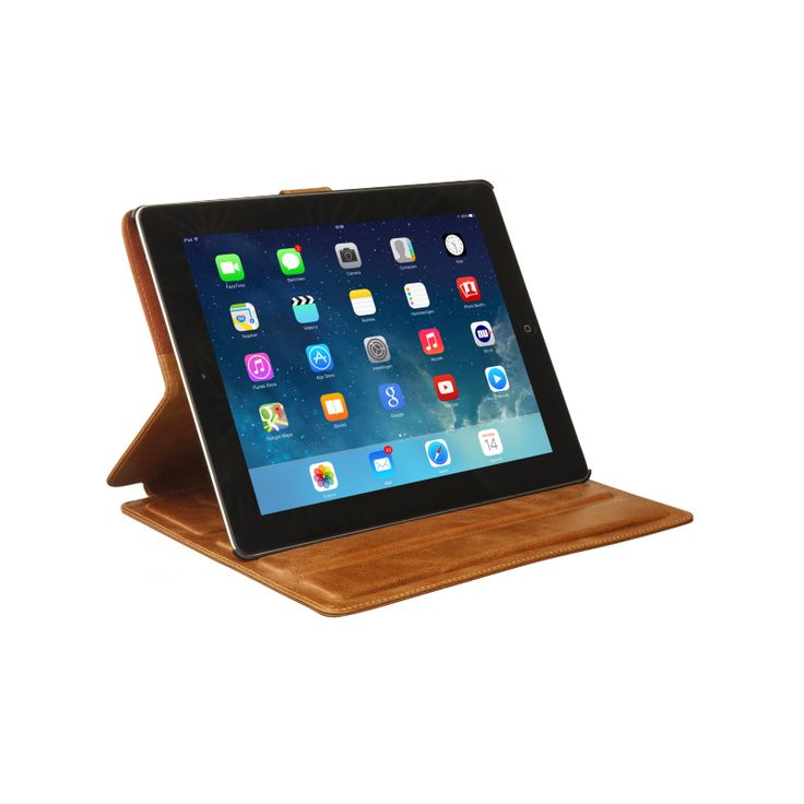 """""""Copenhagen"""" protects your iPad while providing you with numerous viewing angles. Your iPad can also be flipped over to stand up, making an easy-to-use display for your work on the move. 'Copenhagen' is available for iPad 2, 3, 4 & Air!"""