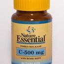 #vitamina C - 500 mg. La ingeste de esta vitamina puede prevenir muchas enfermedades y alargar la vida.  ~$8.60    http://www.elpozodelasalud.es/compra/vitamina-c-500-mg-rose-hips-nature-essential-250271
