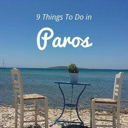 9 things to do in Paros