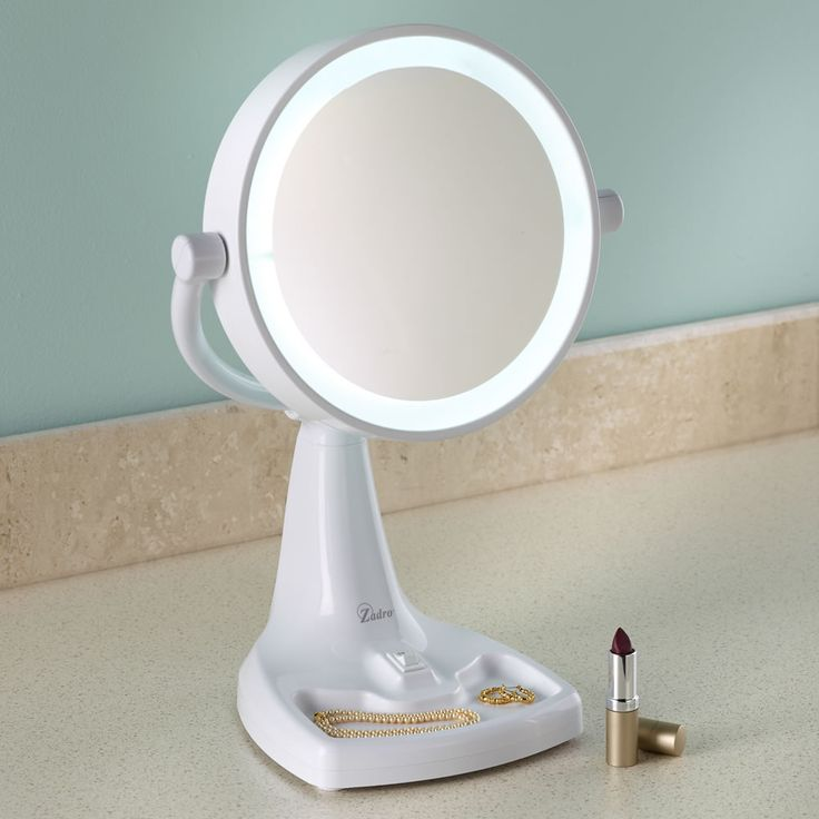 17 Best images about Battery Operated Makeup Mirror on Pinterest Lighted mirror, Mirror with ...
