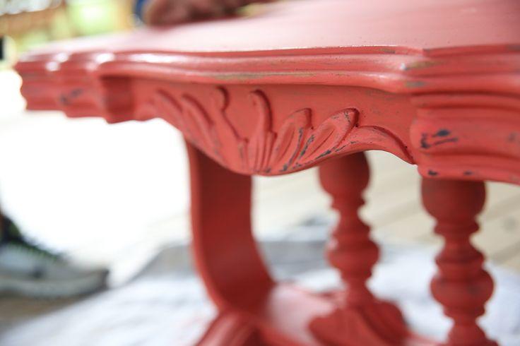 junk gypsy clay & chalk paint // american dream red {junk gypsy co.}