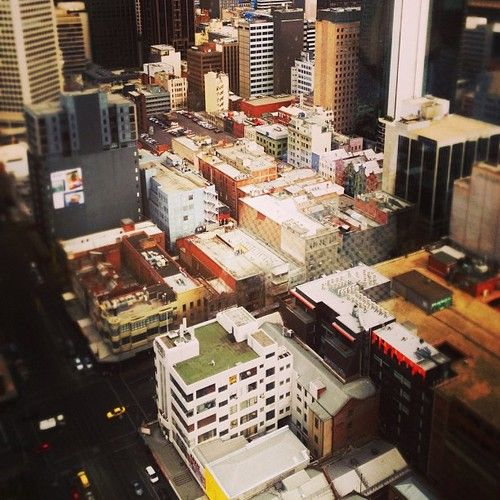Melbourne CBD today #melbourne #highrise #CBD