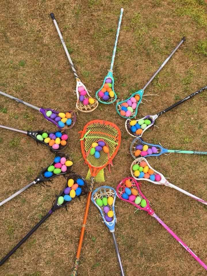 Lacrosse Easter egg hunt