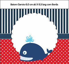 Molduras para Convite Forminhas para doces e bombons Bandeirola Adesivo redondo multiuso Rótulo Baton ...