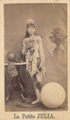 Vintage circus photo