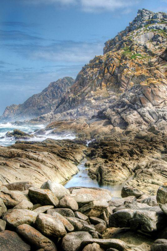 Rocks and water. Cíes Islands. Galicia. Rocas y agua. Islas Cíes | Spain  España