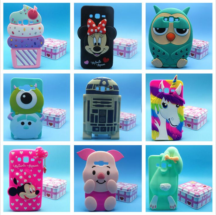 Phone Case For Samsung Galaxy Grand Prime G530 G530H 3D Cartoon Silicone Case in Cell Phones & Accessories, Cell Phone Accessories, Cases, Covers & Skins | eBay