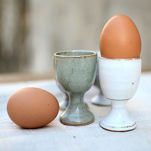 Stoneware Classic Egg Cup - egg cups & cosies
