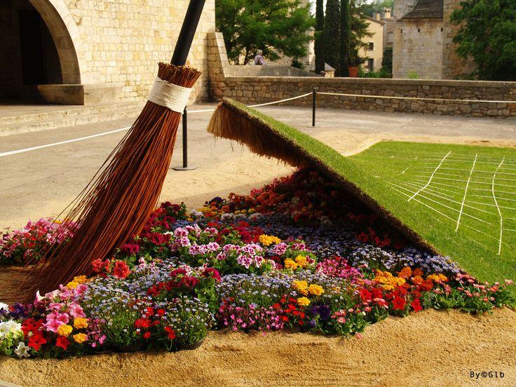 Girona Temps de Flors 2012. Flower Festival. Catalonia