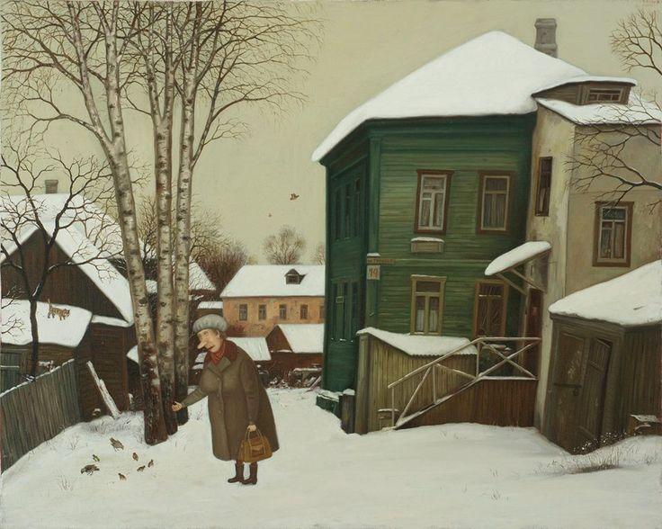 Valentin Gubarev (b1948, Nizhny Novgorod, Russia; based in Belarus)   Про тех, кто остаётся