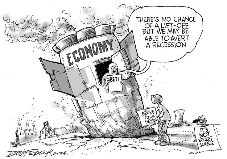 The latest Business Report weekly cartoon looks at the state of the South African economy including the possibility of a recession.  To read more about this click here: http://www.iol.co.za/business