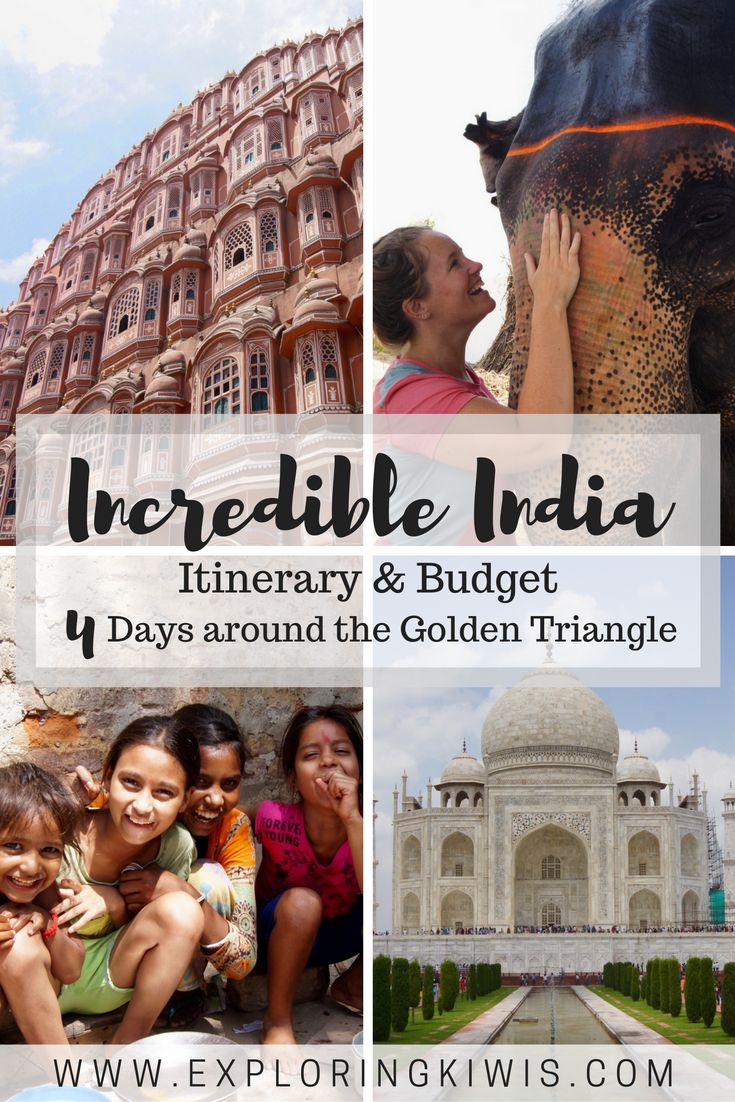 Golden Triangle itinerary - your self drive tour of India's most iconic spots.