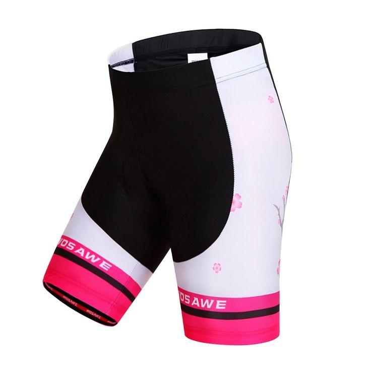 WOSAWE Women Cycling shorts summer bicycle cycling ciclismo tight MTB bike shorts