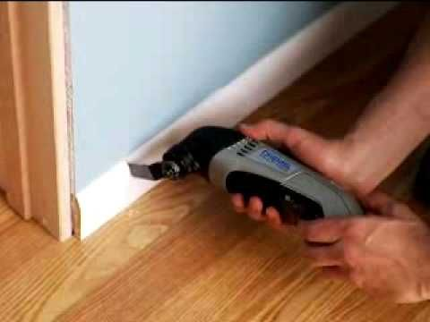 Installing a New Door Casing with the Dremel Multi-Max