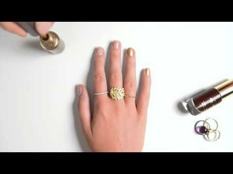 El Manicure con Francés Invertido