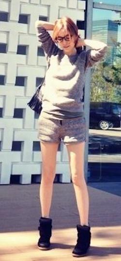 モデル梨花に学ぶショーパンコーデ♡夏だけじゃないショートパンツ♡ショーパン コーデの秋冬 ファッションを集めました!