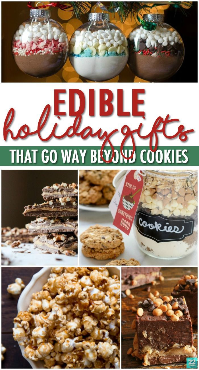 Everyone loves the gift of food, so don't stop with traditional cookies—add these dessert ideas to your holiday gift list. Treats like Chocolate Hazelnut Biscotti for the coffee lover, herb-infused vinegar for your foodie friends, bourbon & salted caramel popcorn and even bacon candy mean you can DIY a delicious treat for everyone on your Christmas list! Don't forget to bring a sweet or savory hostess gift to those holiday season parties, too!