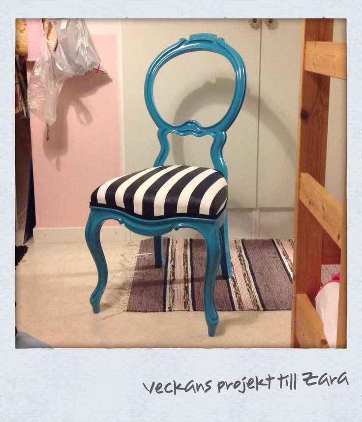 #Recycled an old #chair that went modern.