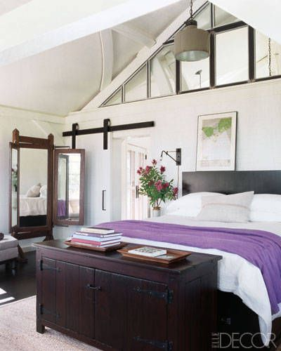 Like the sliding doors  Inside Celebrity Homes Meg Ryan - Beach House Decor of Meg Ryan - ELLE DECOR