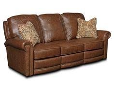 Jasmine LEATHER POWER Recliner Sofa