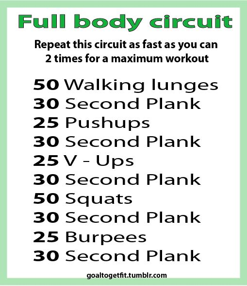 Full body circuit: Healthy Inspiration, Full Body Workouts, Work Outs, Shorts Workout, Home Workouts, Exercise Fitness, At Home Workout, Circuit Workout, Full Body Circuit