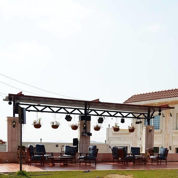 استراحة الحمرا الإستراحات جدة Outdoor Structures Pergola Outdoor