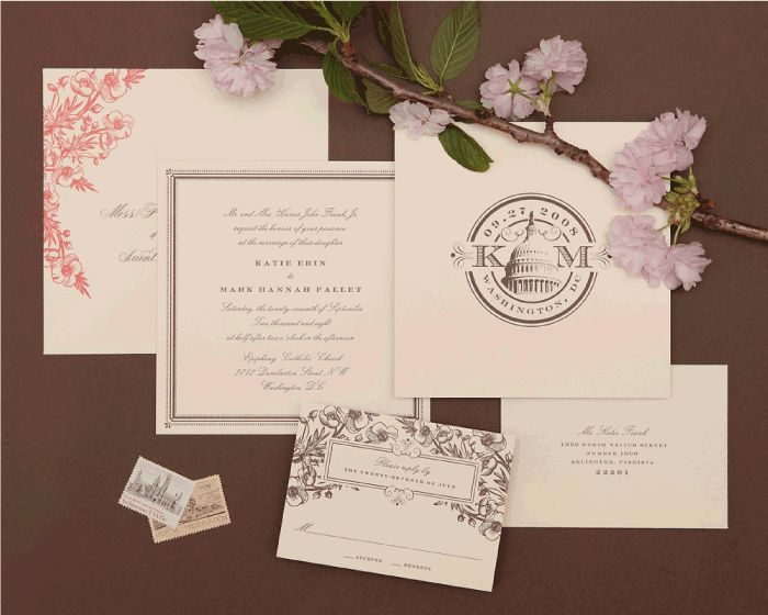235 best wedding invitation ideas images on pinterest