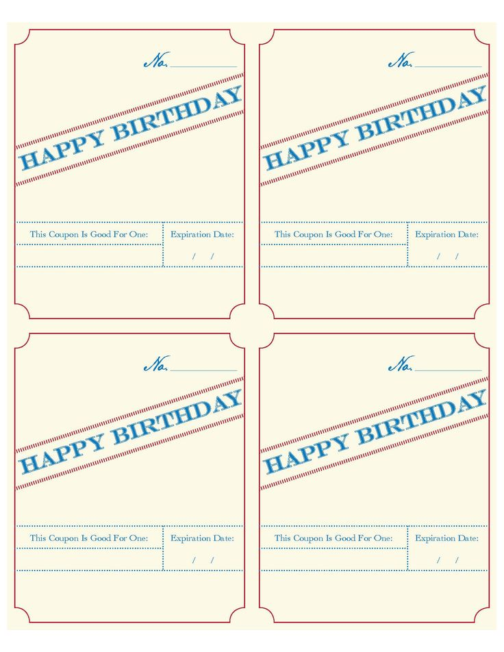 The 25+ best Birthday coupons ideas on Pinterest Kids rewards - coupon templates free