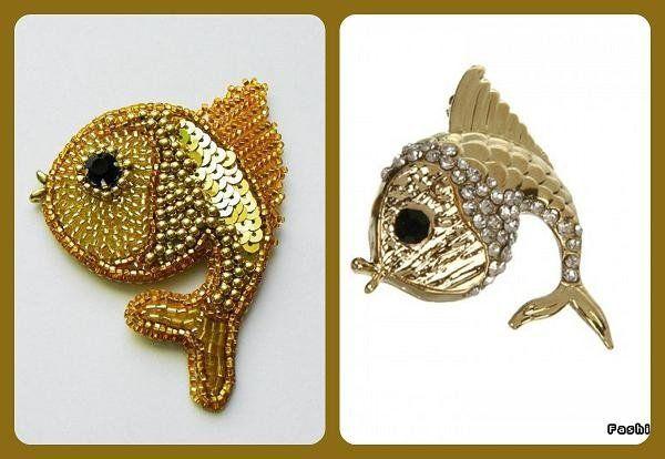 Рыбки | biser.info - всё о бисере и бисерном творчестве