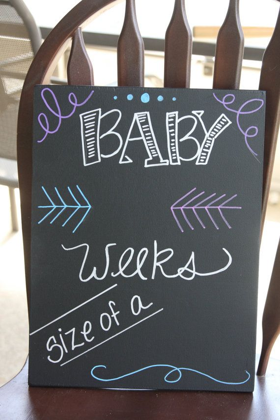 Pregnancy Chalkboard, Weekly Pregnancy Chalkboard, Weekly Pregnancy, Reusable
