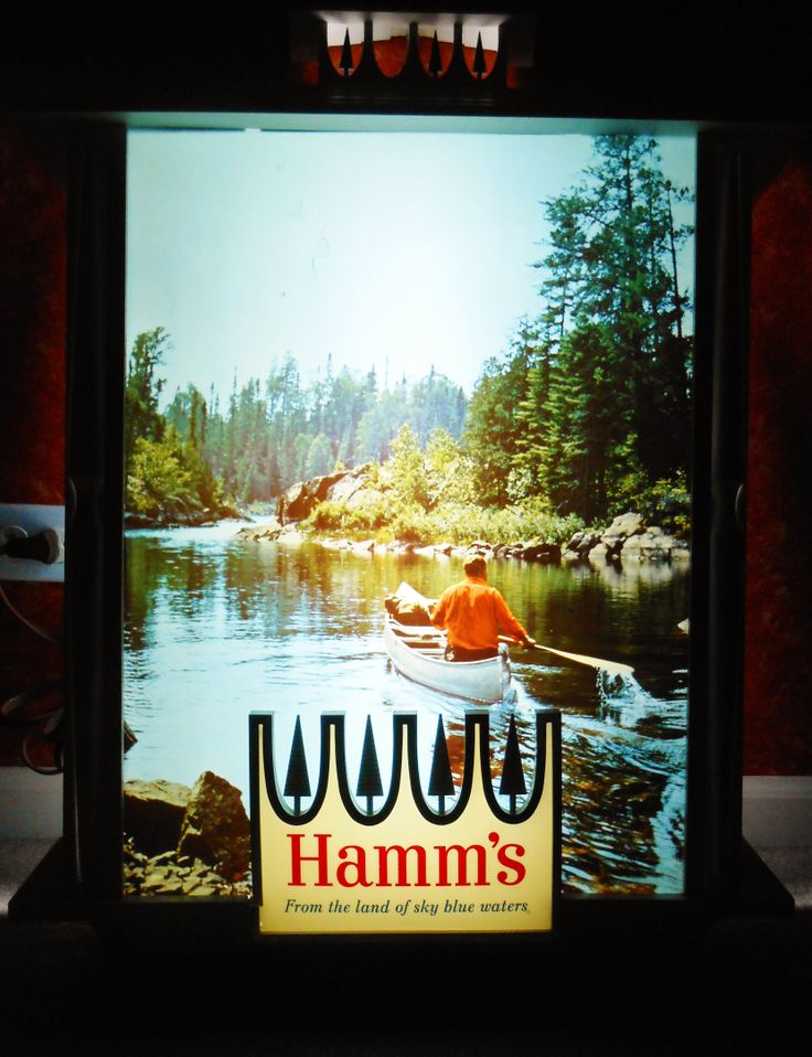 Vintage Hamm S Beer Lighted Sign Circa 1982 Breweriana