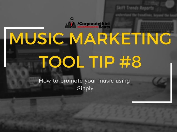 Music Marketing Tool Tip #8 Promote your music with sniply