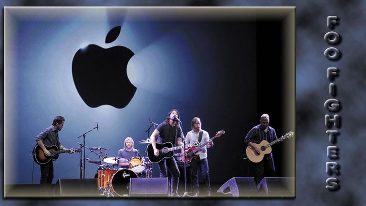 Foo Fighters Concert iPhone 5 Wallpapers
