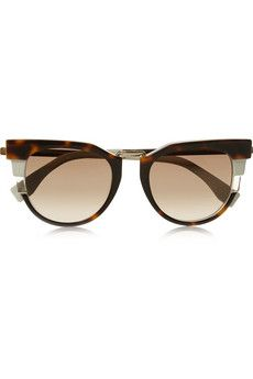 Fendi Cat eye acetate sunglasses  | NET-A-PORTER