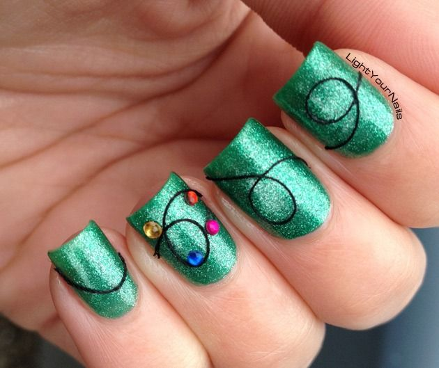Christmas Lights Nails Pinterest: 1000+ Images About HOT NAILS!!!! On Pinterest