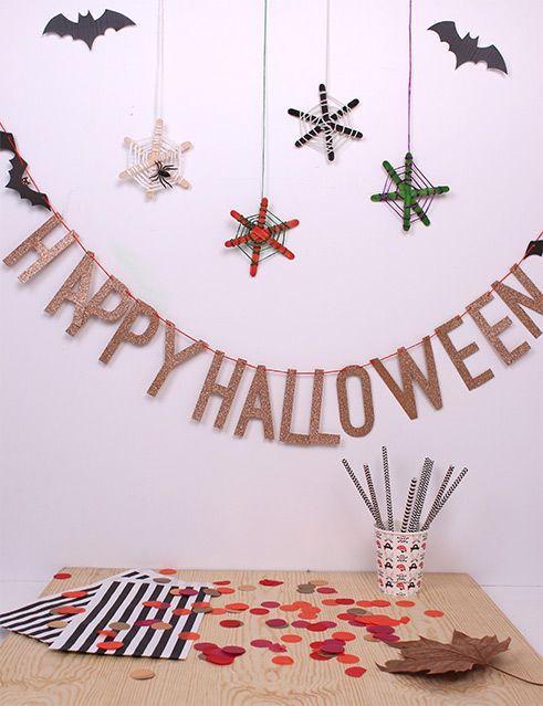 Taller Halloween: Telarañas terroríficas - Blog de Puericultura y Juguetes