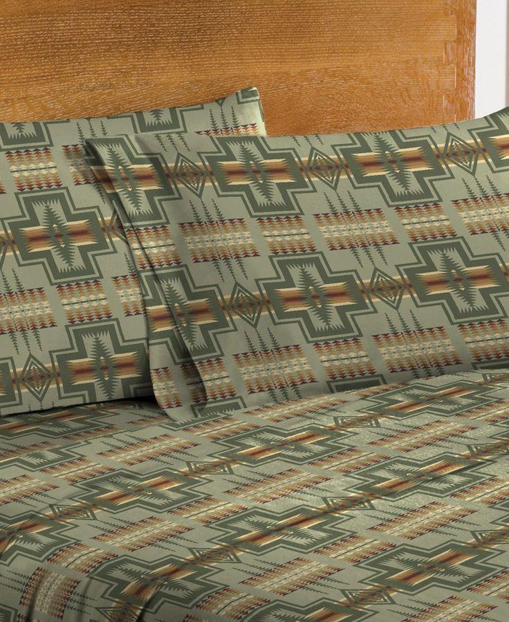 Pendleton Flannel Twin Sheet Set