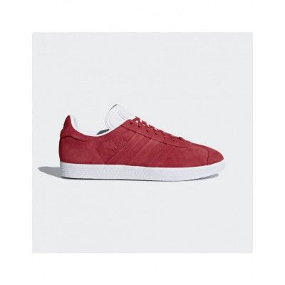 73249789ceb9e Adidas Men s Originals Gazelle Stitch And Turn Shoes Collegiate  Red Collegiate Red Cloud White BB6757