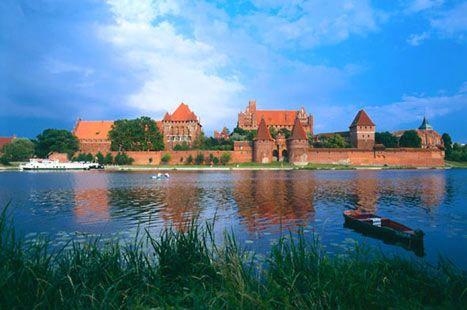 Panorama Malbork Castle | Poland