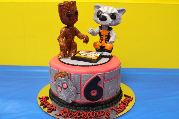 Cake Art Ga : 17 Best images about Guardians of the galaxy party on ...
