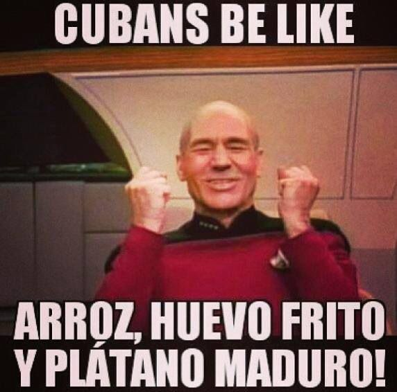 Yeahhhh !! Cubans be like .