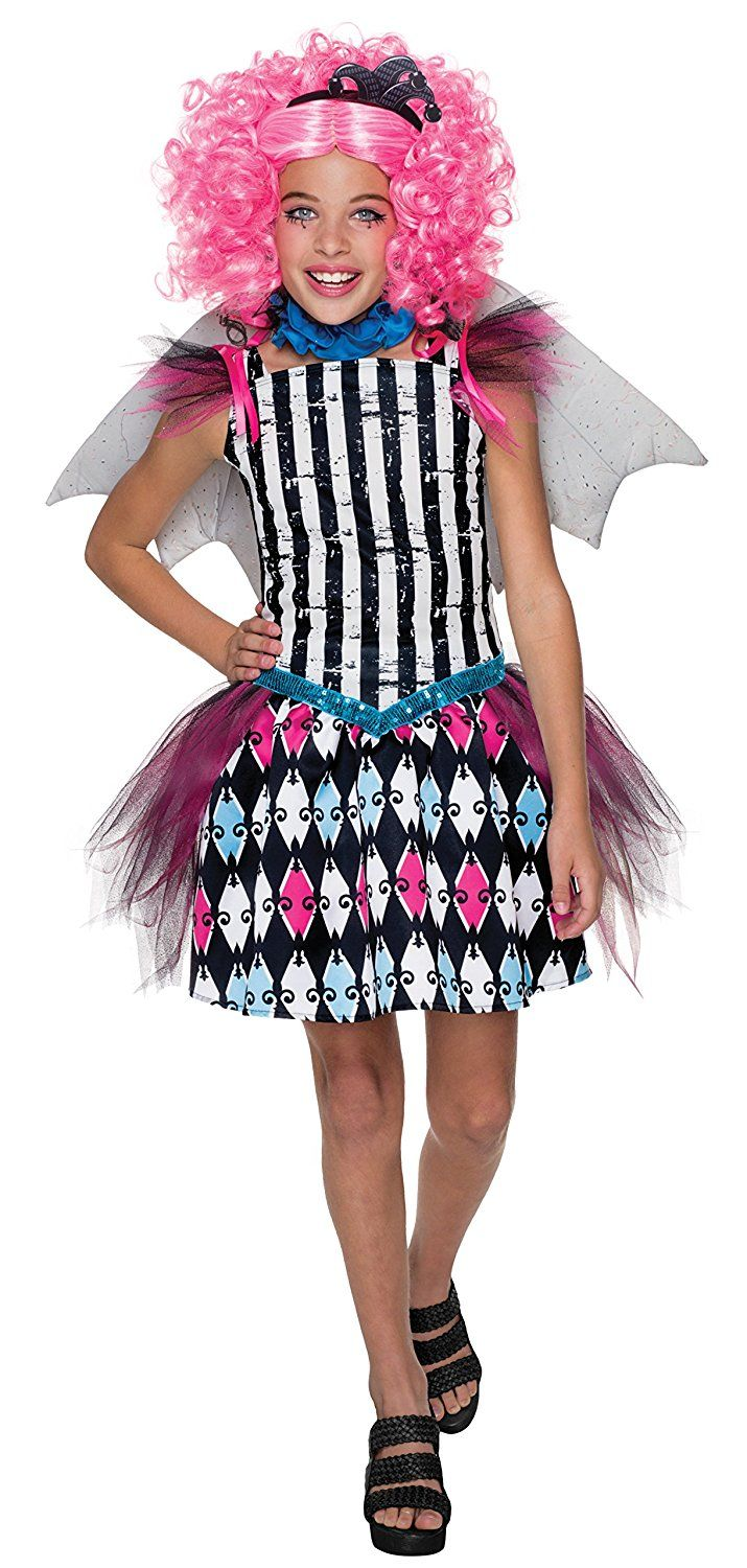 rubies costume monster high freak du chic rochelle goyle child costume large a special product just for you see it now halloween costumes for boys - Halloween Costume Monster